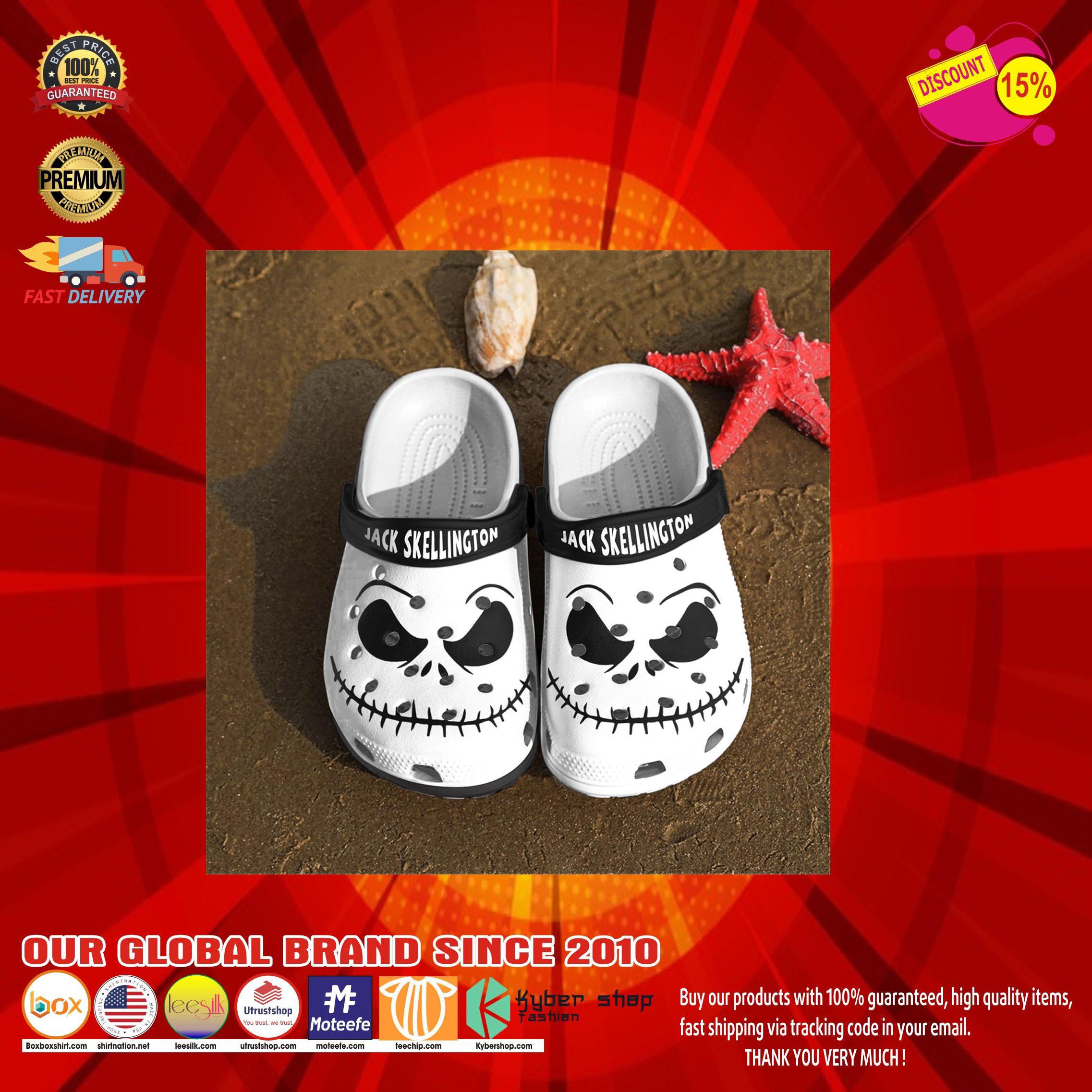 Jack skellington crocs clog shoes10