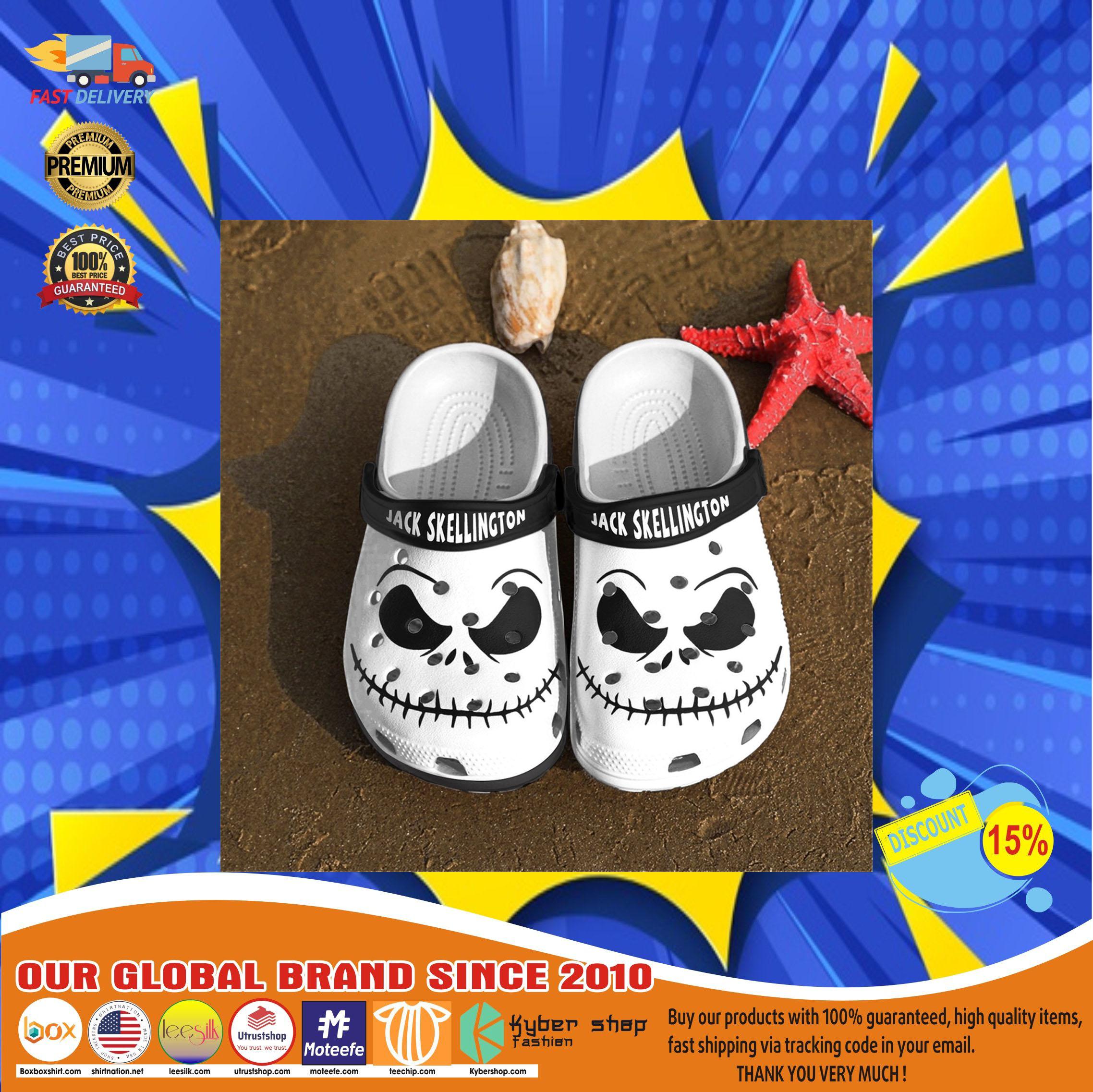 Jack skellington crocs clog shoes11
