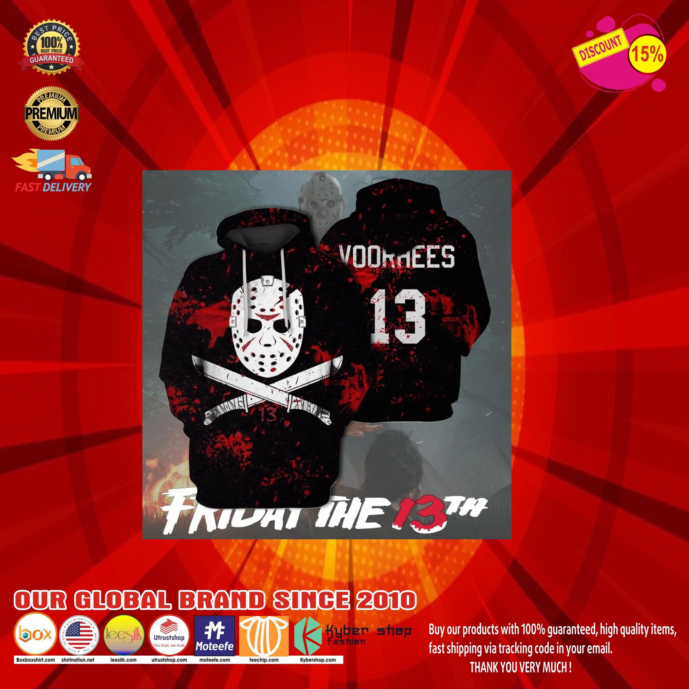 Jason voorhees friday the 13th 3d hoodie10