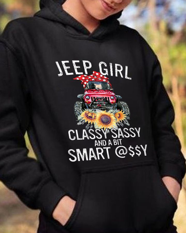 Jeep Girl Classy Sassy Smart Shirt 10