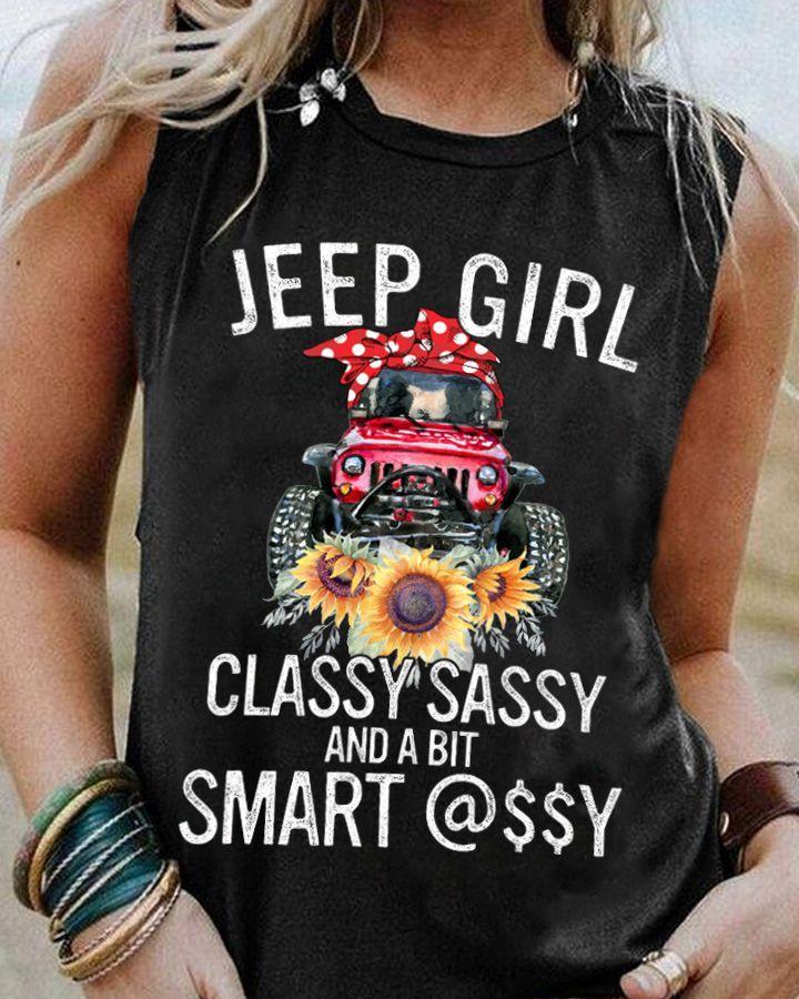 Jeep Girl Classy Sassy Smart Shirt 12