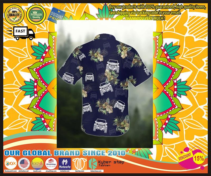 Jeep tropical hawaiian shirt 7