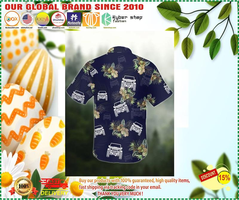 Jeep tropical hawaiian shirt 9