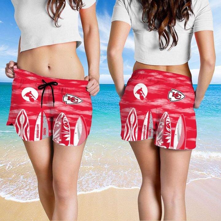 Kansas City Chiefs Hawaiian shirt And Beach SHORT 14
