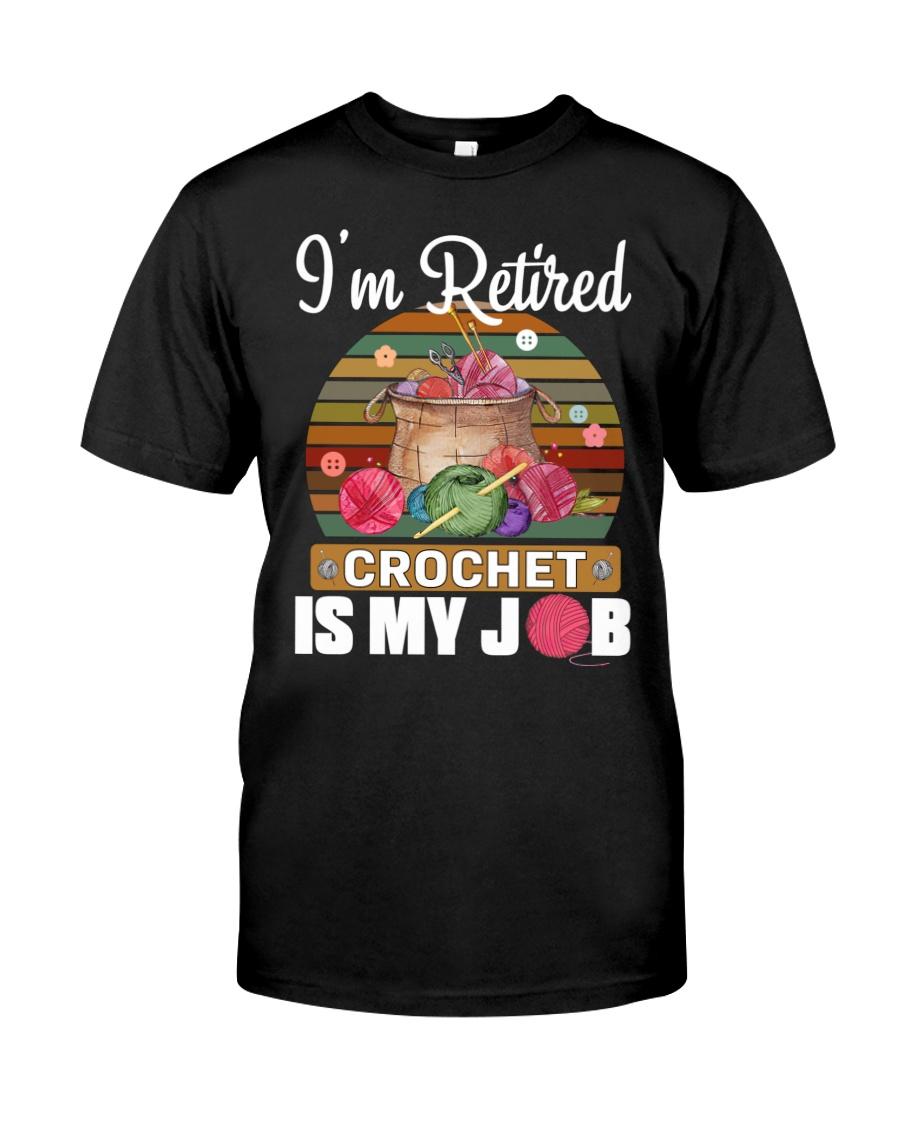Knitting I'm Retired Crochet Is My Job 13