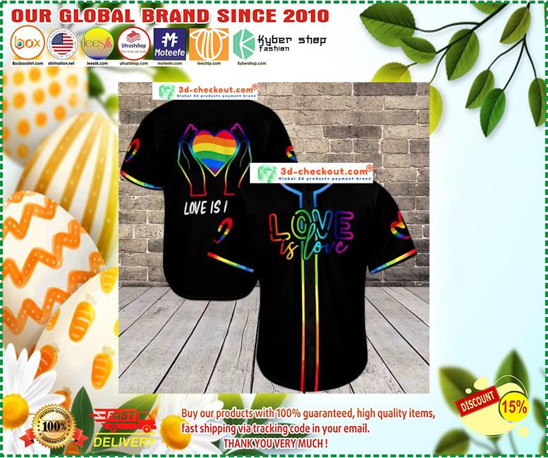 LGBT love is love baseball shirt 11