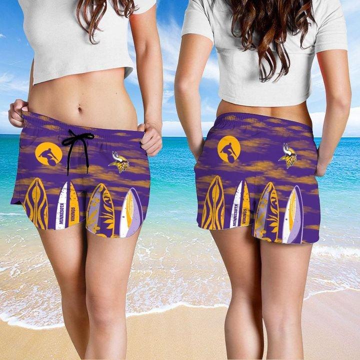 Minnesota Vikings Hawaiian shirt And Beach SHORT 15