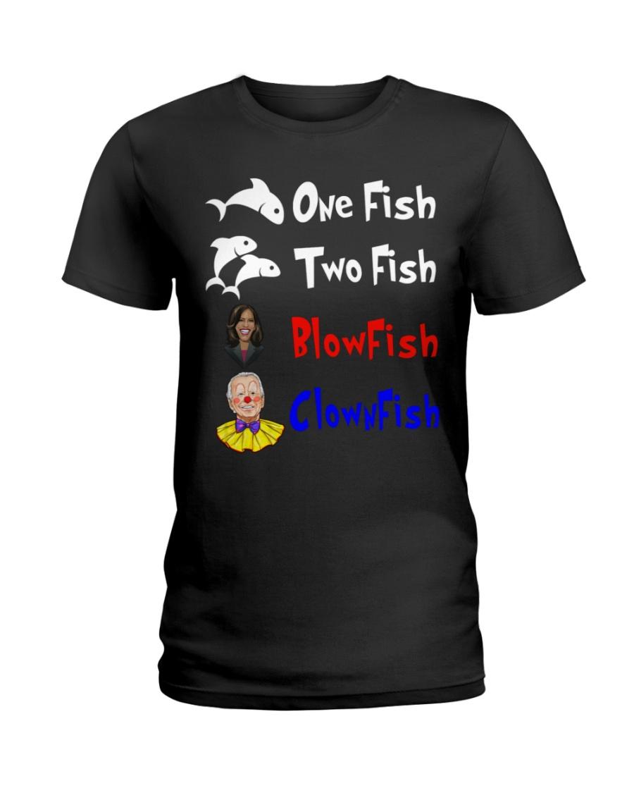 Nancy Pelosi Clown Biden One Fish Two Fish BlowFish ClownFish Shirt 13