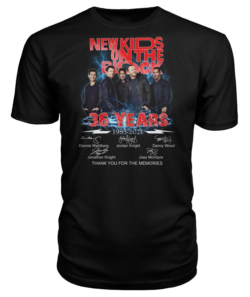 New Kids On The Block 36 Years 1985 - 2021 Shirt 11