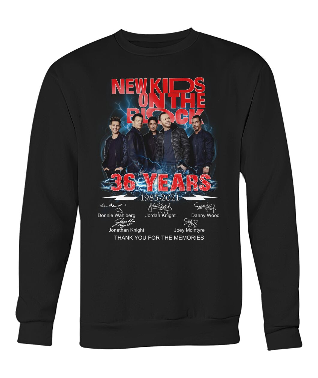 New Kids On The Block 36 Years 1985 - 2021 Shirt 10