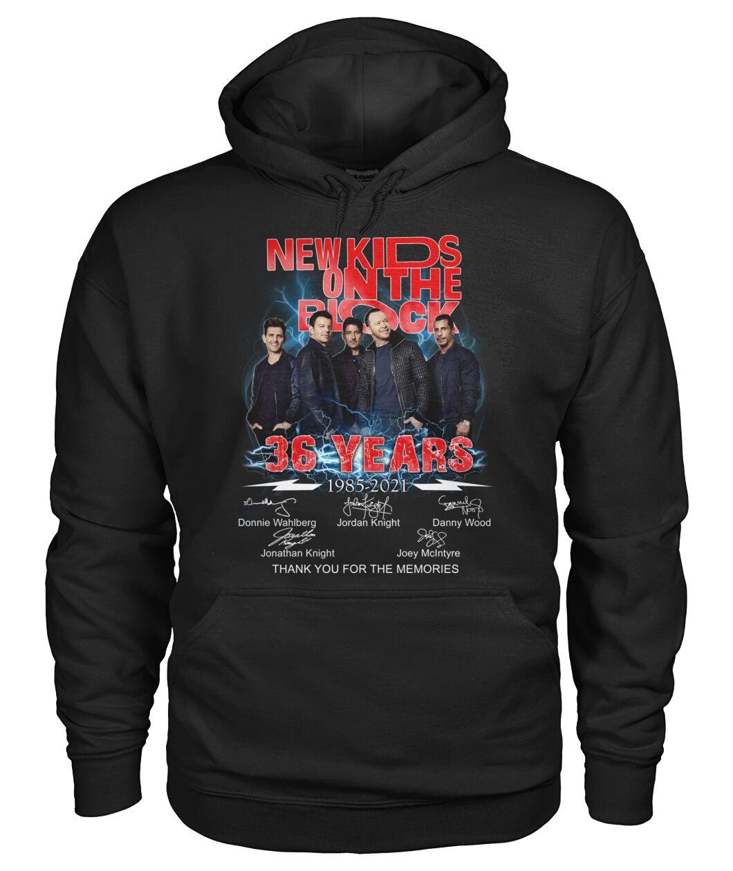 New Kids On The Block 36 Years 1985 - 2021 Shirt 12