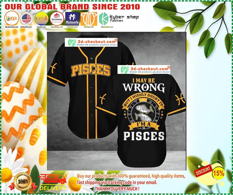 Pisces Baseball Jersey 10