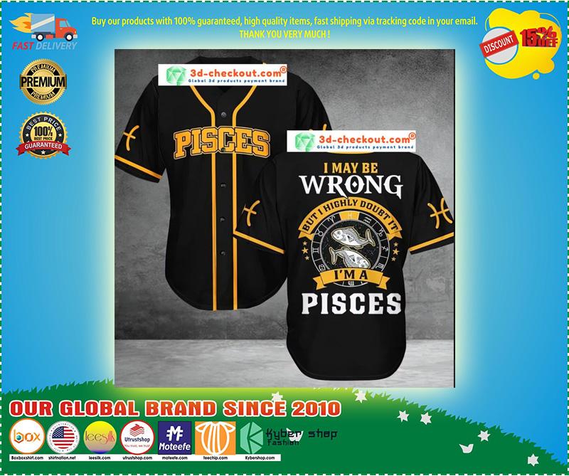 Pisces Baseball Jersey 11
