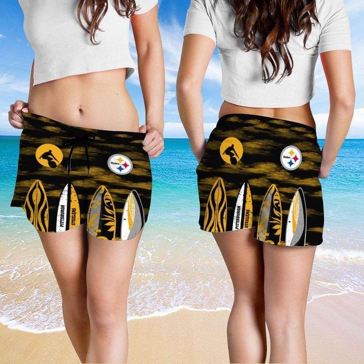 Pittsburgh Steelers Hawaiian shirt And Beach SHORT 15