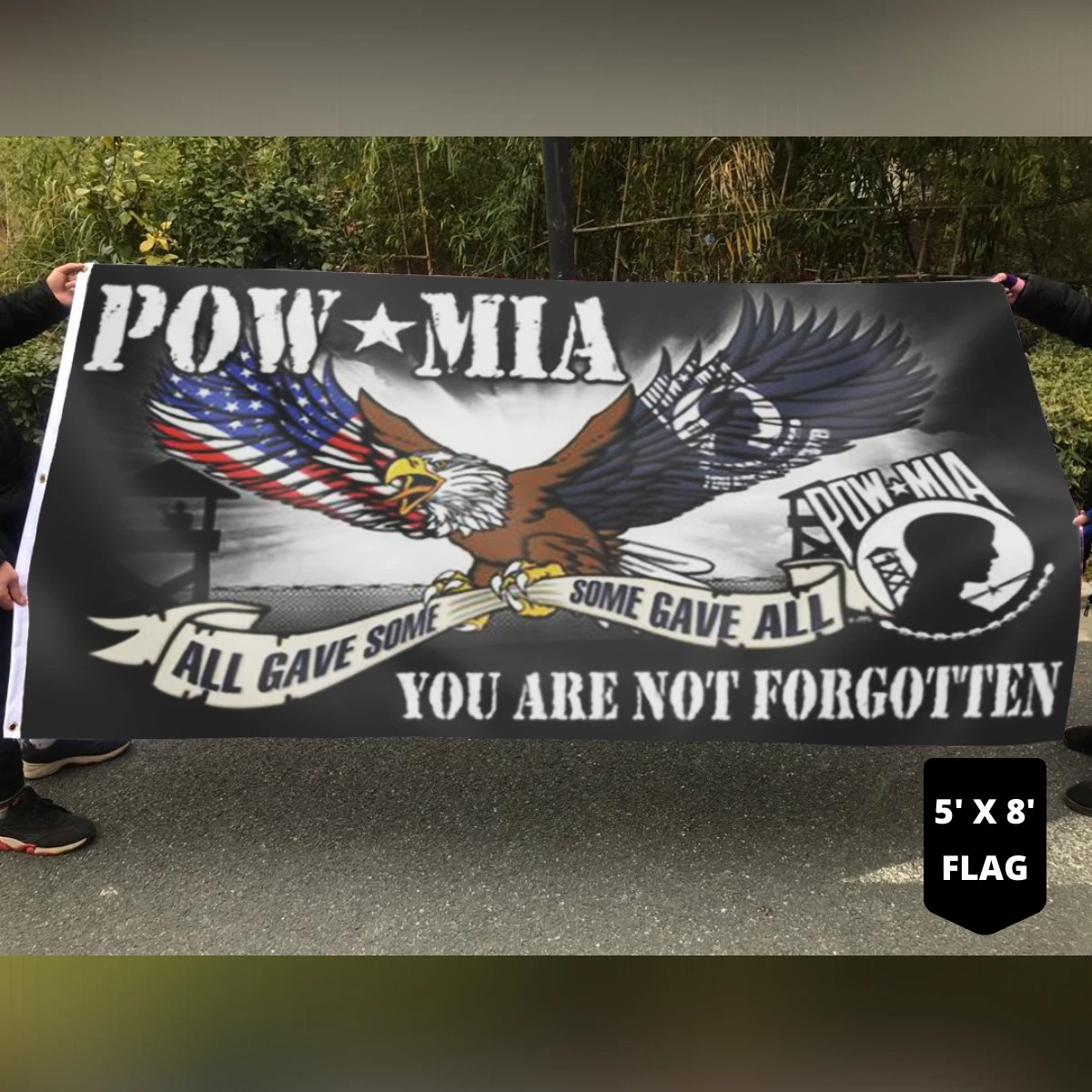 Pow mid all gave some some gave all you are not forgotten flag 8