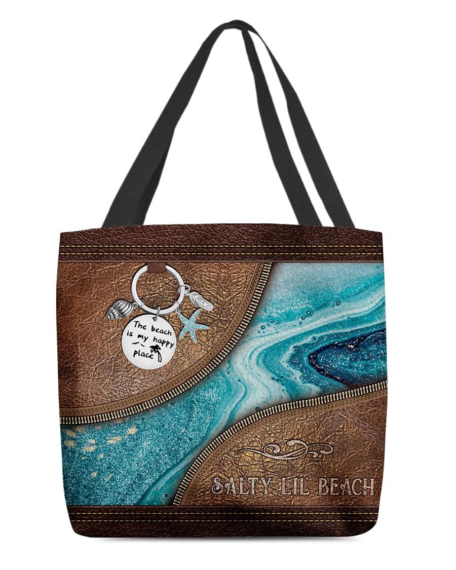 Salty lil beach tote bag 7