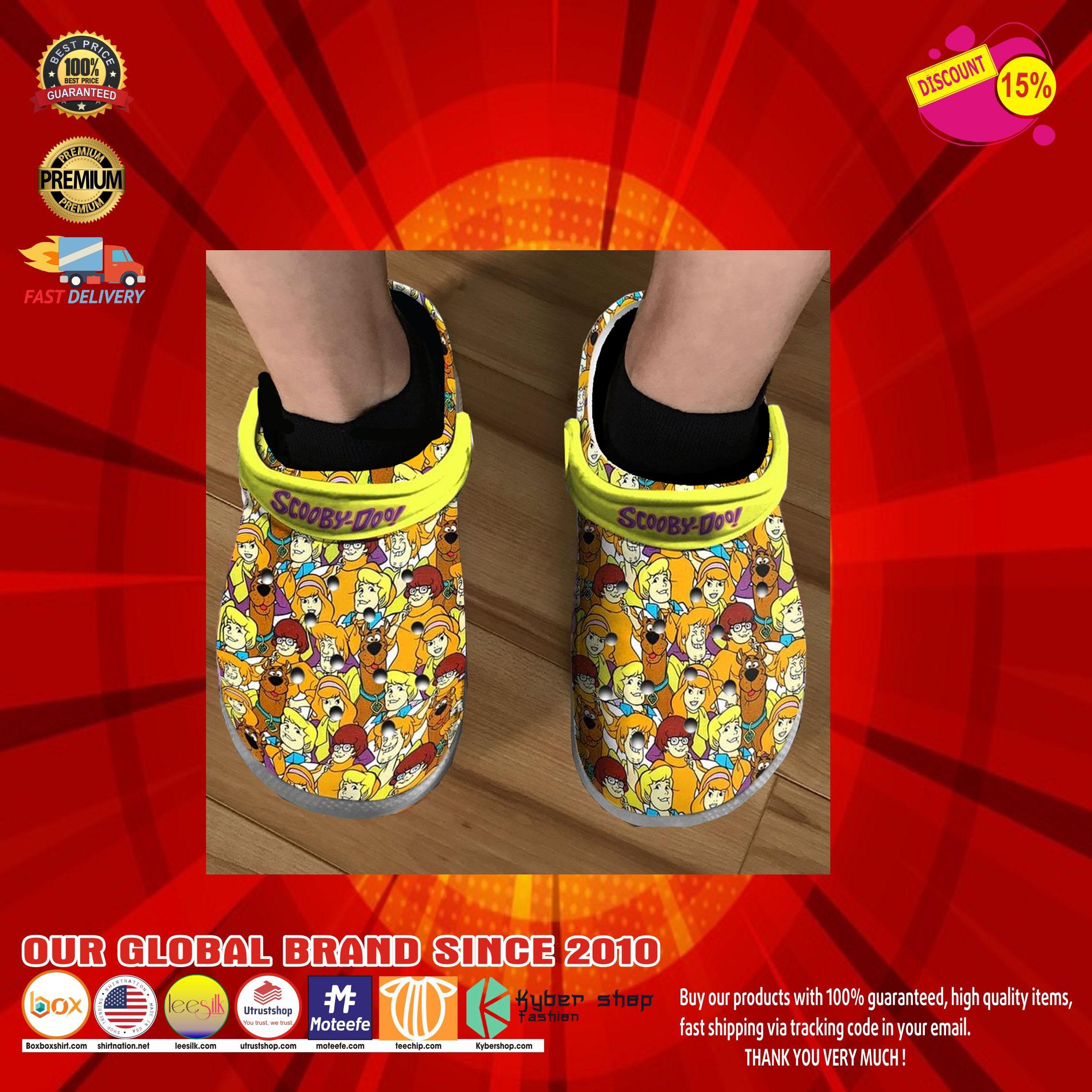 Scooby doo crocs clog shoes10