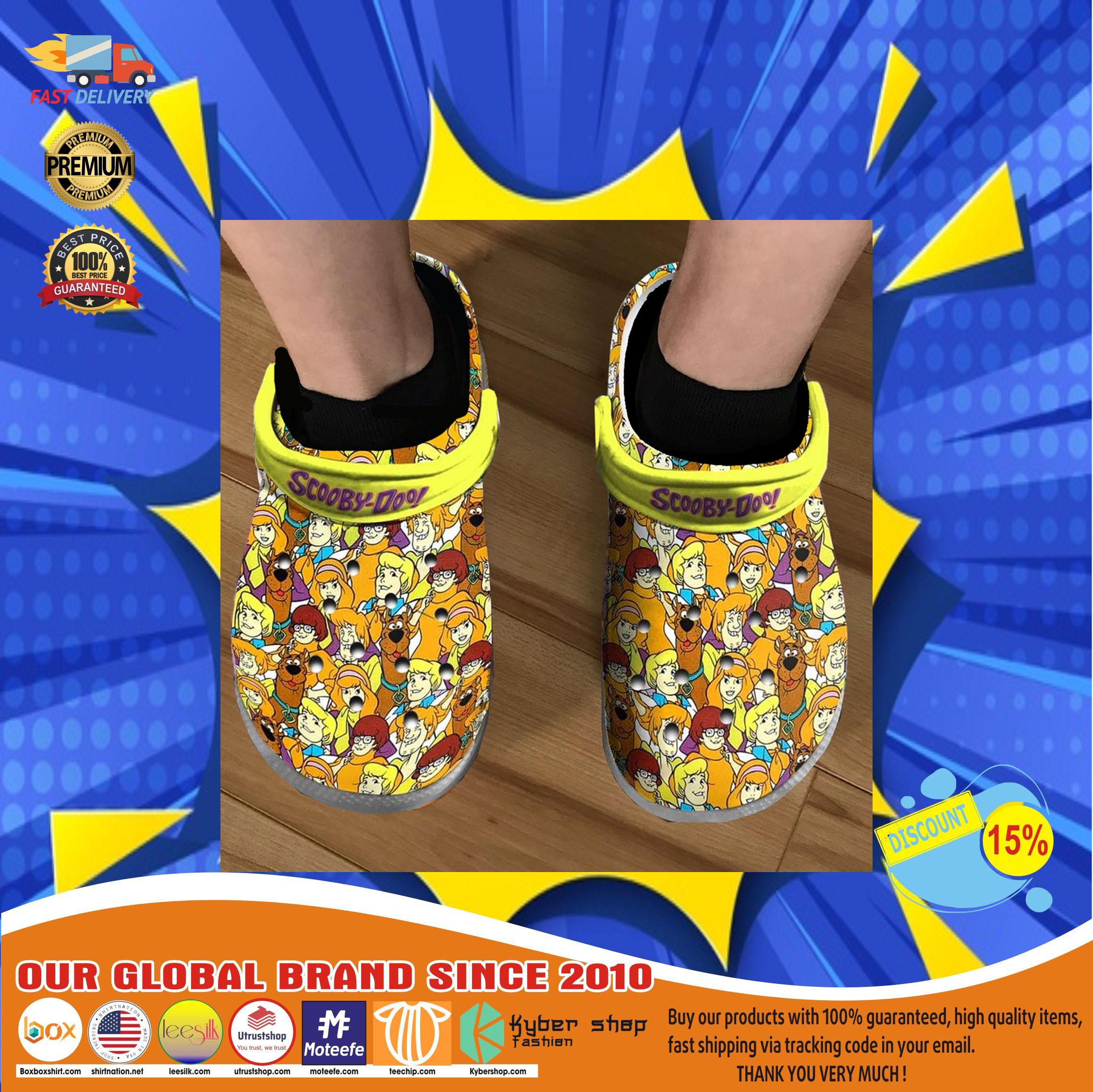 Scooby doo crocs clog shoes11