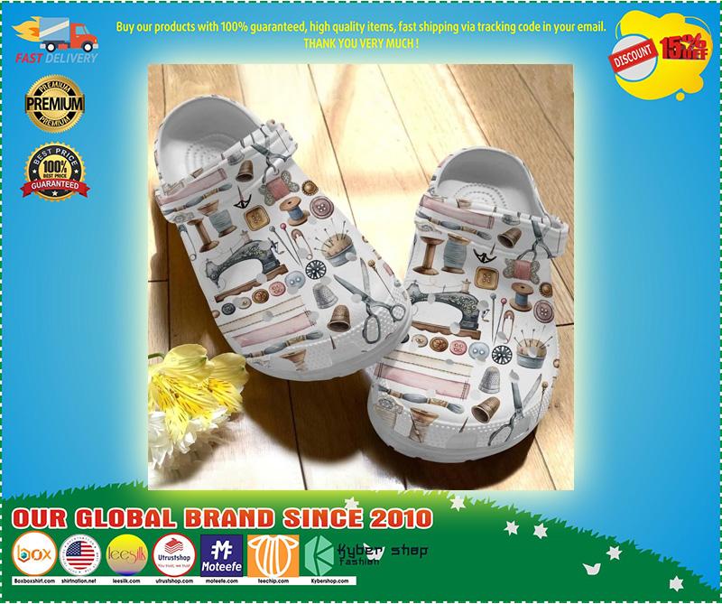 Sewing crocs crocband clog 10