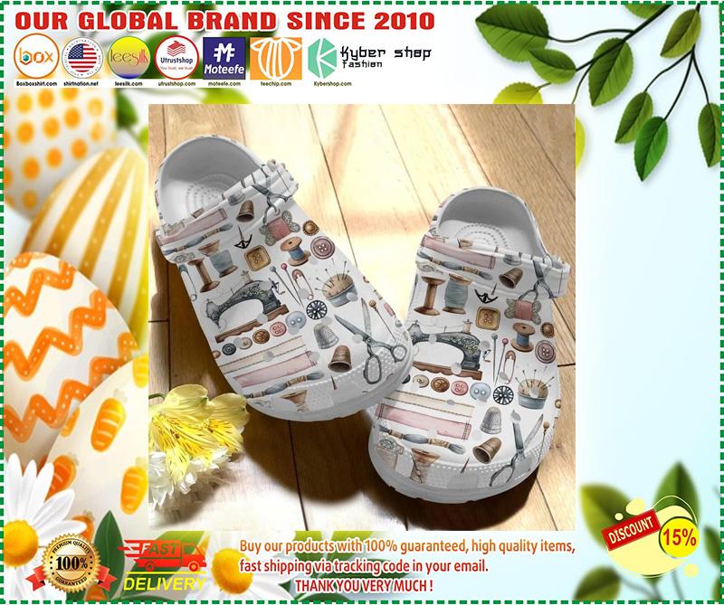 Sewing crocs crocband clog 11
