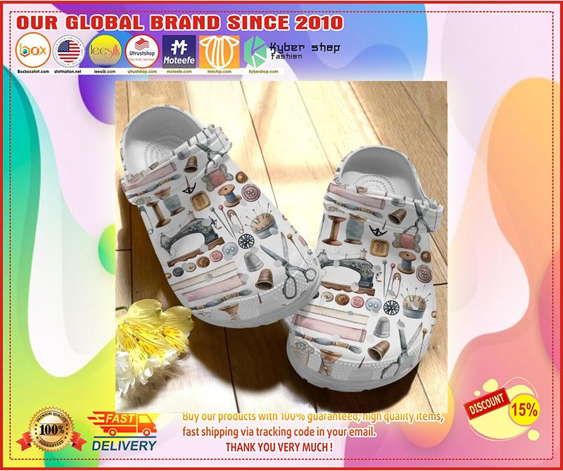 Sewing crocs crocband clog 9