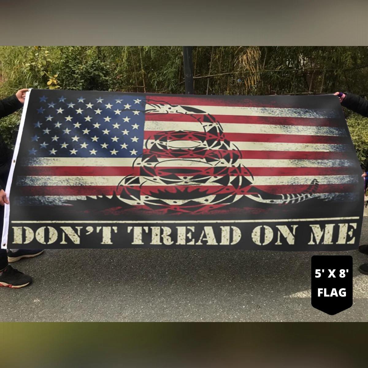 Snake Don't tread on me flag 11