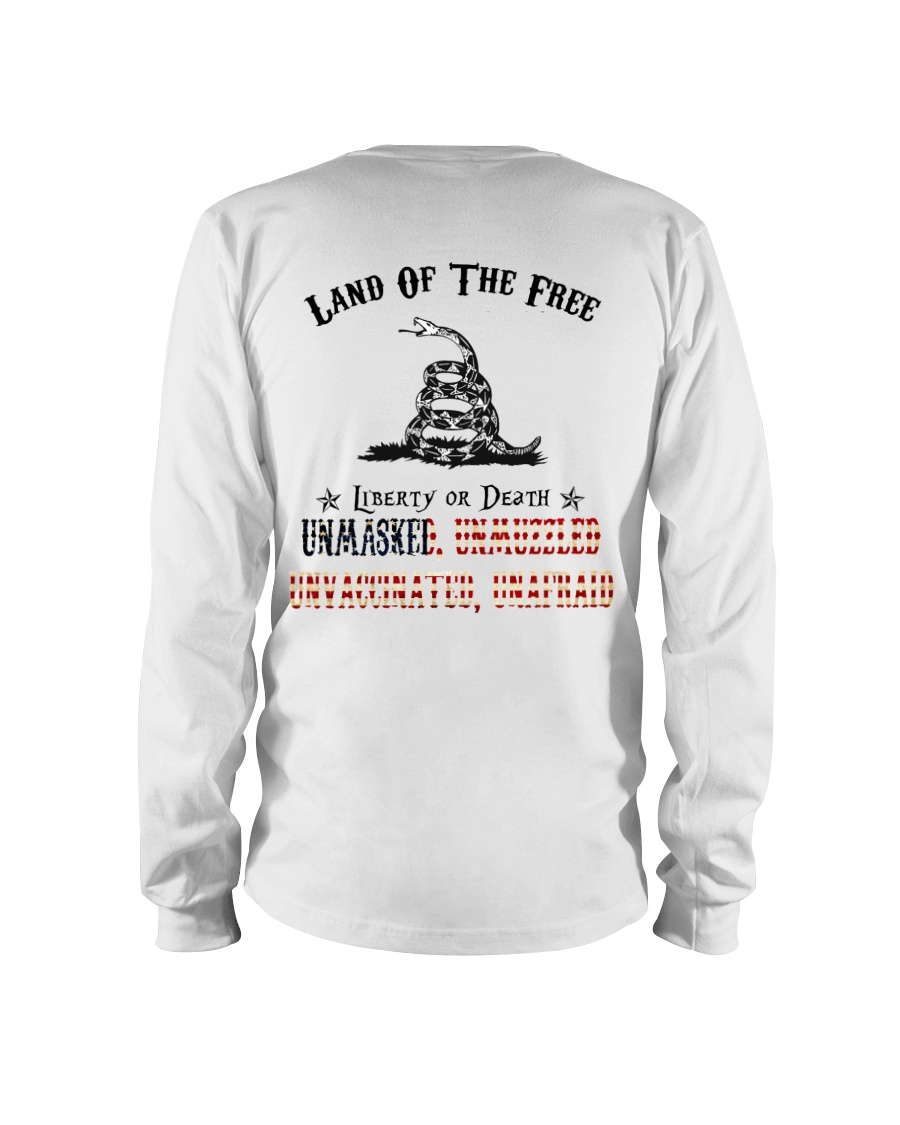 Snake Land Of THe Free Liberty Of Death Unmasked Shirt 12
