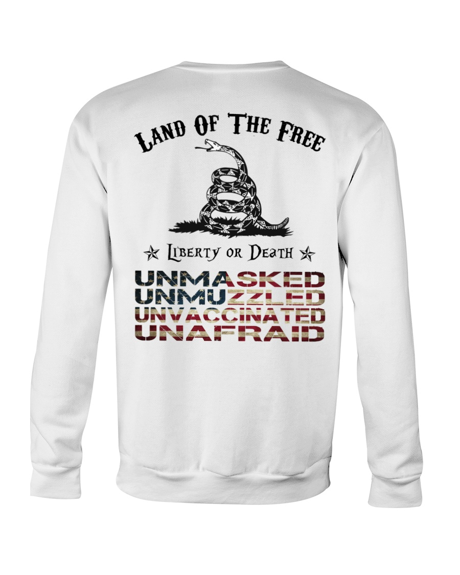 Snake Land Of The Free Liberty Or Death Shirt 11