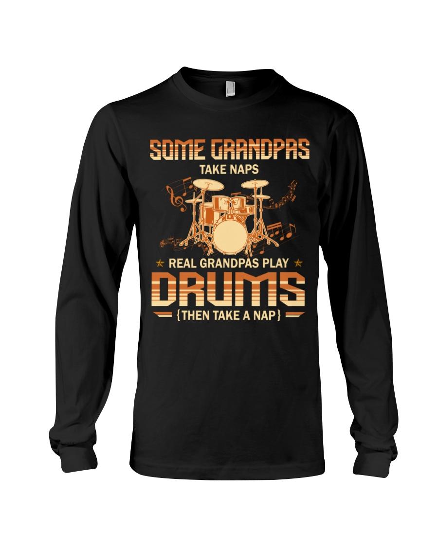 Some Grandpas Take Naps Real Grandpas Play Drums Then Take A Nap Shirt 12