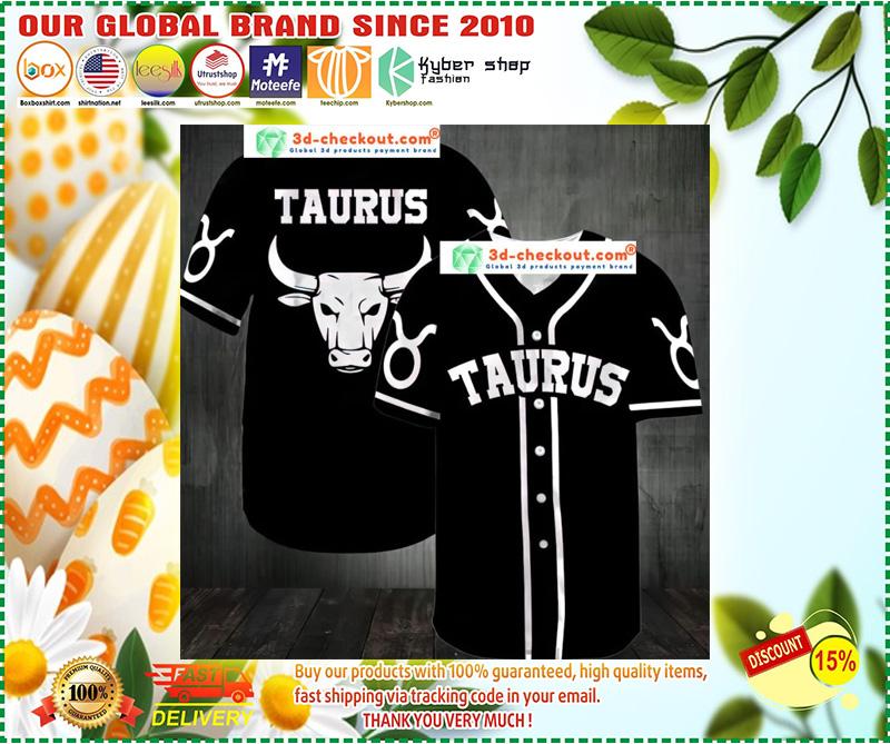 Taurus Baseball Jersey 10