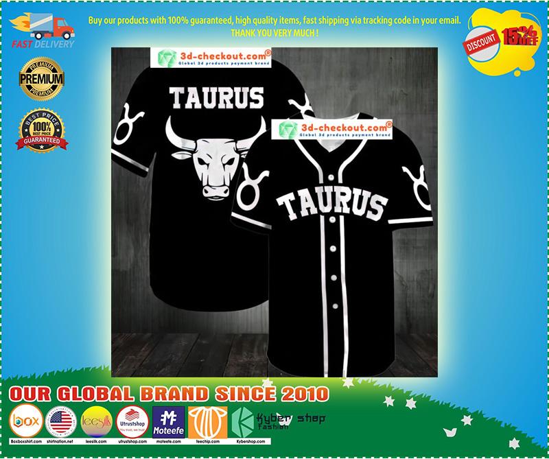 Taurus Baseball Jersey 11