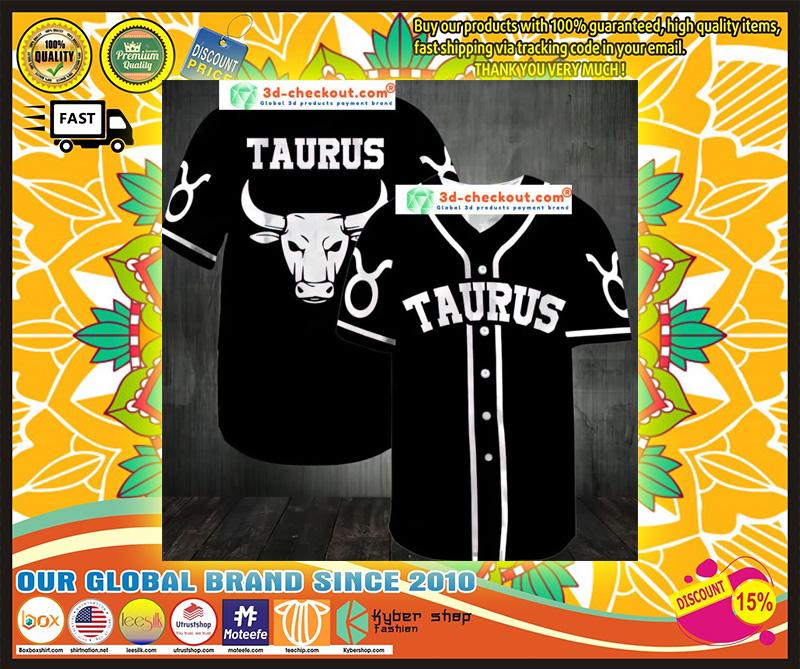 Taurus Baseball Jersey 9