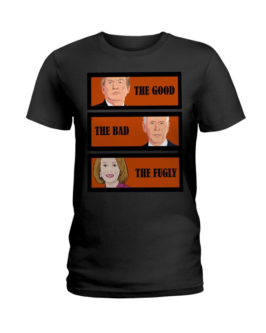 The Good Trump The bad Biden The Fugly Shirt 11