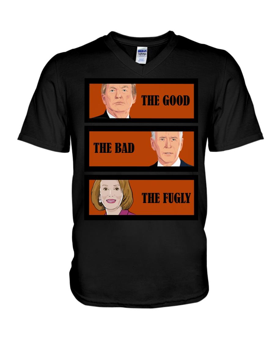 The Good Trump The bad Biden The Fugly Shirt 12