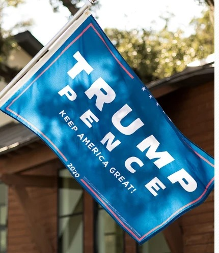 Trump pence keep America great flag 4