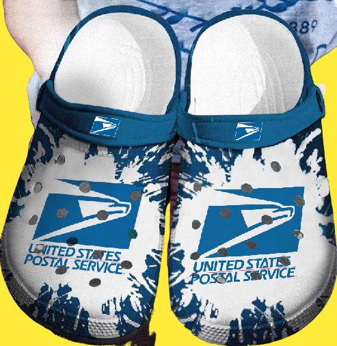 United Stated Postal Service crocs clog crocband shoes.jpg6
