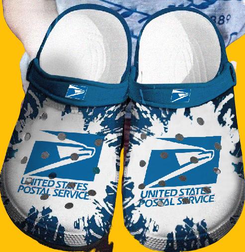 United Stated Postal Service crocs clog crocband shoes.jpg7