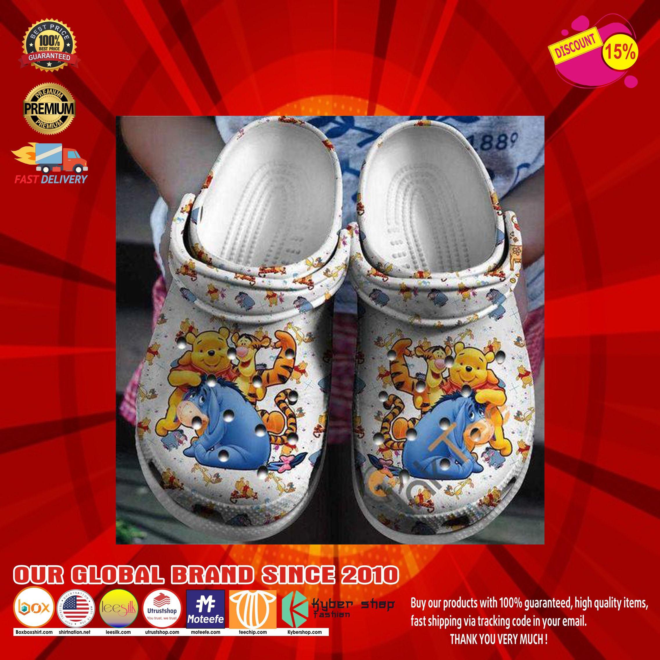 Winnie the pooh crocs clog shoes11
