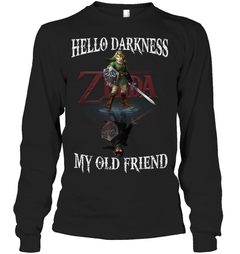 Zelda Darkness My Old Friend Shirt 6