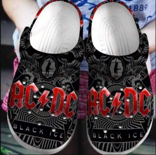 Ac dc Crocs Clog Shoes4 2 1