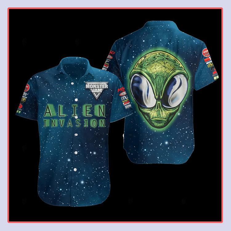 Alien Invasion Hawaiian Shirt4 1