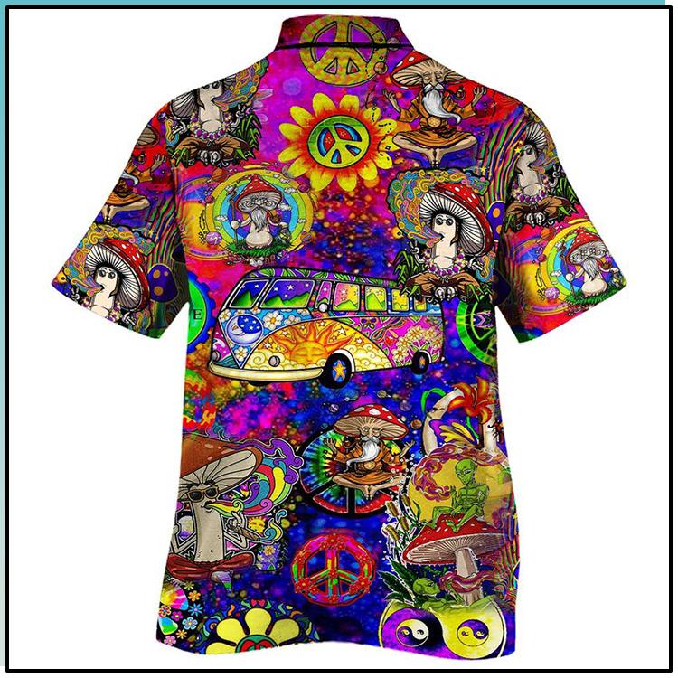 All Over Print Trippy Pattern Hawaiian Shirt1 1