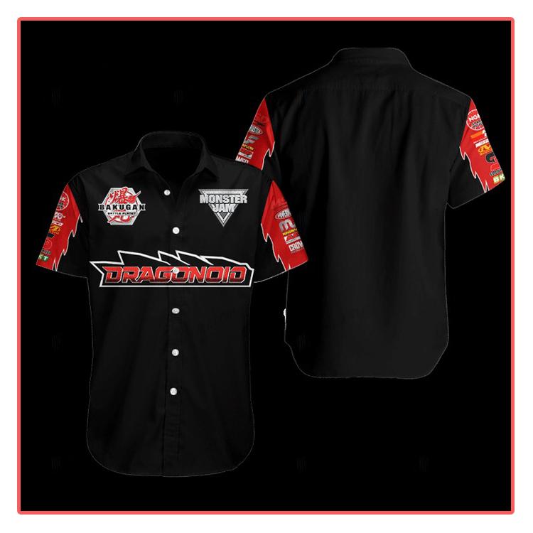 Bakugan Dragonoid Hawaiian Shirt1 1