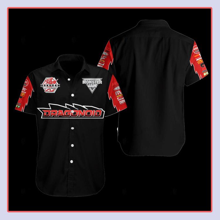 Bakugan Dragonoid Hawaiian Shirt4 1