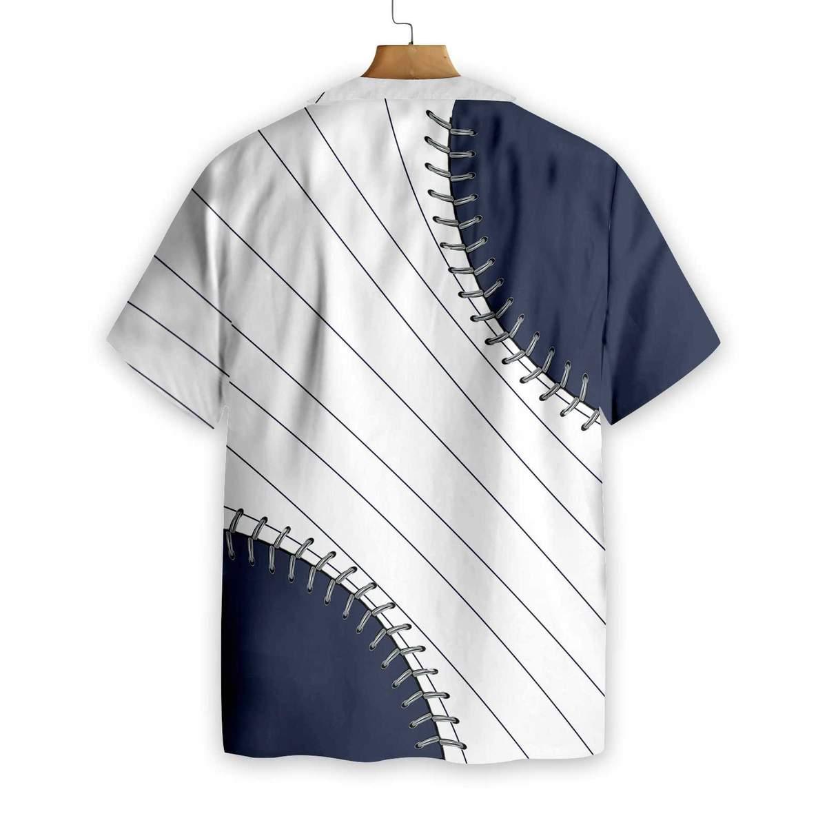 Baseball You are killin me small Navy Blue Hawaiian Shirt1