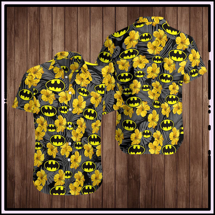 Batman superhero hawaiian shirt3