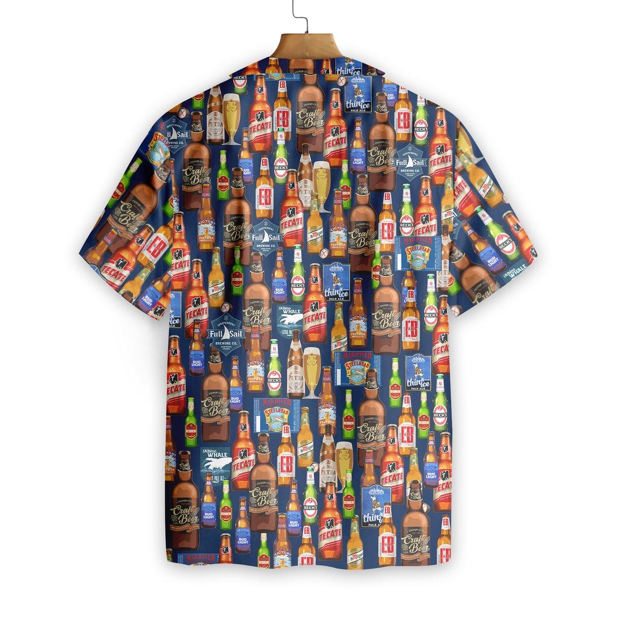 Beer Hawaiian Shirt1