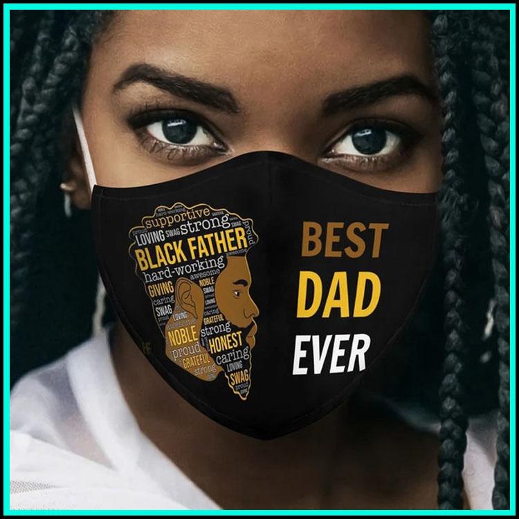 Best dad ever 3d face mask4