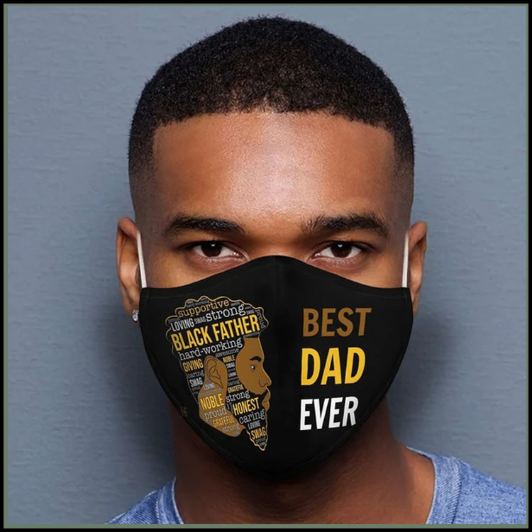Best dad ever 3d face mask8