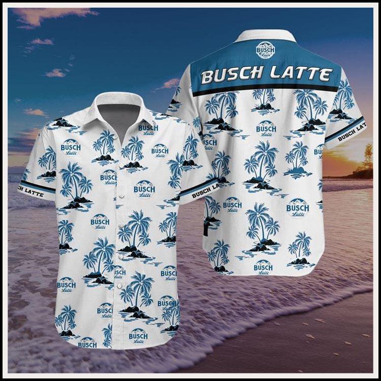 Busch latte hawaiian shirt2
